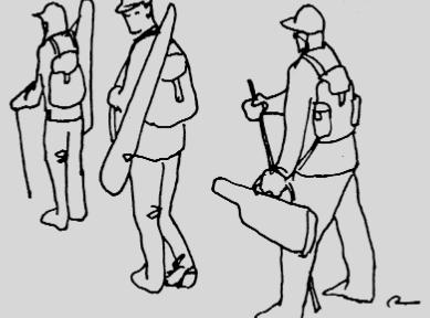 Marcha con armas enfundadas